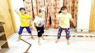 getlinkyoutube.com-Chaar SHANIVAR (ALL IS WELL) dance by 3 kids(beauty n grace dance academy) [HD]