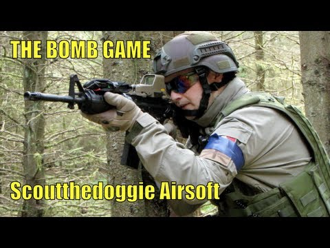 The Bomb Game. Section8 Airsoft War Scotland ICS Galil