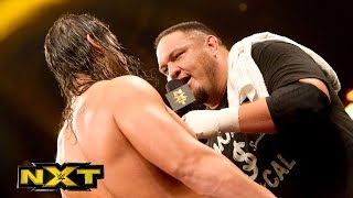 Samoa Joe stands up to Baron Corbin: WWE NXT, Aug. 12, 2015