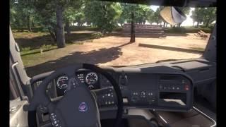 getlinkyoutube.com-Euro Truck simulator 2  Europe Rebuilding v1.0 - Troche Rosji & Wyjazd z rozładunku w lesie Bydgoszc