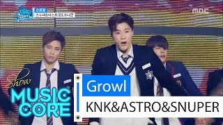 getlinkyoutube.com-[Special stage] KNK&SNUPER&ASTRO - Growl, 스누퍼&아스트로&크나큰-으르렁 Show Music core 20160416