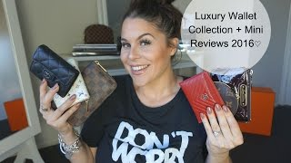 getlinkyoutube.com-Luxury Wallet Collection + Mini Reviews 2016♡