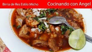 getlinkyoutube.com-Birria de Res Estilo Michoacán | Recetas deliciosas