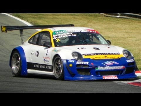 Porsche 997 GT3 RSR & GT3 R Sound In Action On The Track
