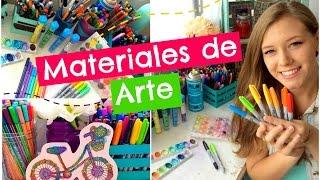 getlinkyoutube.com-Materials de Arte ❤️