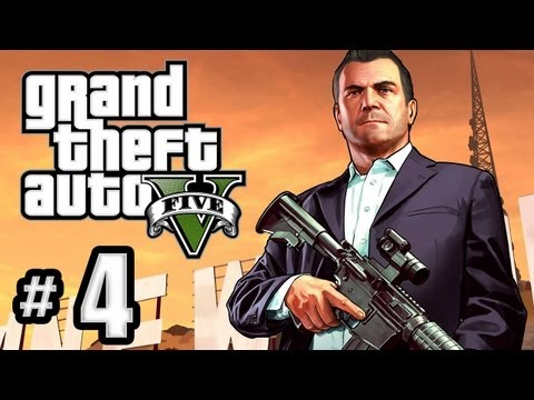 Grand Theft Auto 5 Gameplay Walkthrough Part 4 - The Sex Tape!