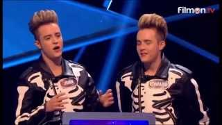 getlinkyoutube.com-BBC One - Pointless Celebrities | Series 8 - Episode 8 Halloween (with Jedward)