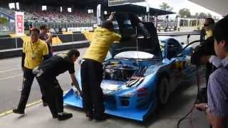 getlinkyoutube.com-RE Amemiya Hurricane RX7 pit stop WTAC 2014
