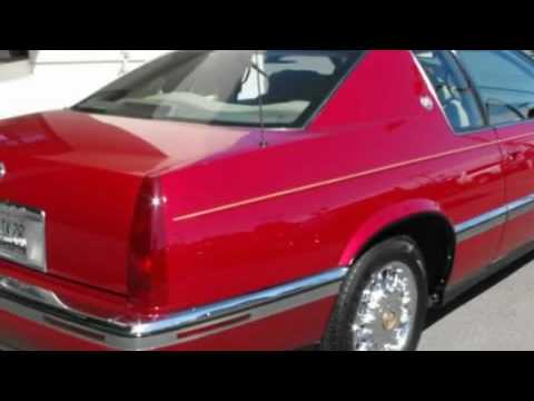Red 1994 Eldorado  