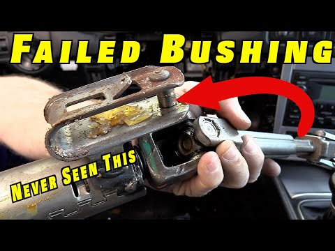 How To Replace a Failed Steering Column Bushing