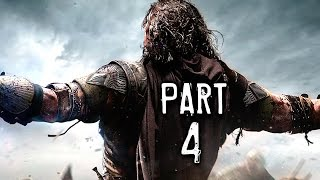 getlinkyoutube.com-Middle Earth Shadow of Mordor Walkthrough Gameplay Part 4 - Ratbag (PS4)