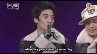 (English Subbed) Big Bang's Interview on Love Letter (02.02.08)