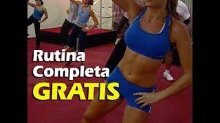 getlinkyoutube.com-Rutina COMPLETA de TAEROBICS: 30 minutos de Cardio Kickboxing en Español