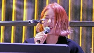 getlinkyoutube.com-151120 와썹(WA$$UP) 지애 버스킹 - 안아줘 직캠 by 마녀