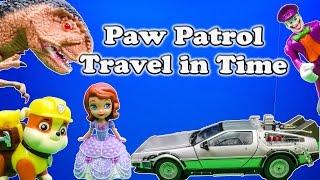 getlinkyoutube.com-PAW PATROL Nickelodeon Paw Patrol & Disney Sofia the First Time Travel a Paw Patrol Video Parody