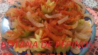 getlinkyoutube.com-RICA BOTANA PEPINOS CON CUERITOS (LOS ANGELES COCINAN )