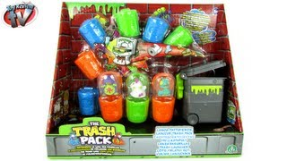 getlinkyoutube.com-The Trash Pack: Trash Launcher Set Toy Review, Moose