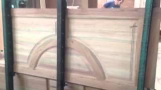 getlinkyoutube.com-Ensamblaje puerta de madera