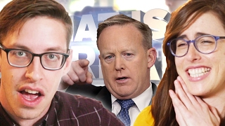 getlinkyoutube.com-Does Sean Spicer Chew 35 Pieces Of Gum Every Day? • FAKE NEWS