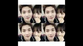 getlinkyoutube.com-EXO's Baekhyun and SNSD's Taeyeon 2014 Couple