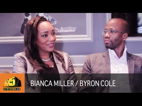 Apprentice Star Bianca Miller & Byron Cole | Advice on being a Boss