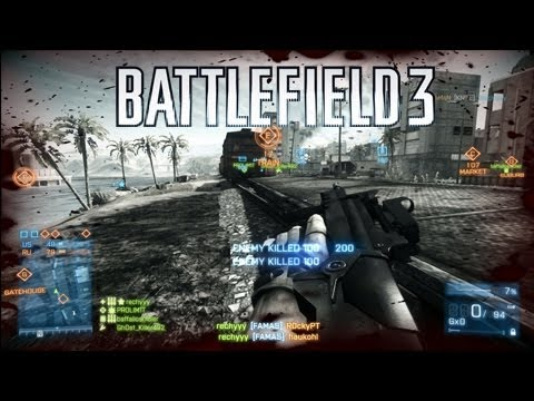 Battlefield 3 Famas Gameplay