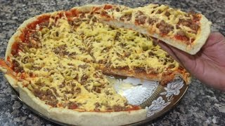 getlinkyoutube.com-طريقة تحضير بيتزا ناجحة في البيت