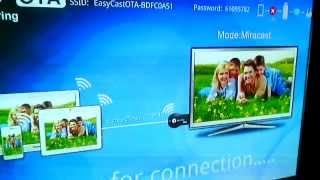 Test EasyCast Windows 8 8.1 10 Tablet MX Miracast Chromecast SEP Pantalla Inalambrica