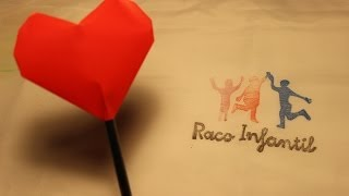 getlinkyoutube.com-Cómo hacer un corazón hinchable en Origami