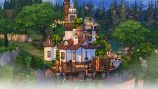 The Sims 4 Speed Build : Howl's Moving Castle Part 1