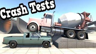 getlinkyoutube.com-BeamNG Drive - New Crash Tests Ep. 60