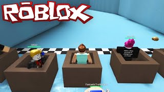 getlinkyoutube.com-Roblox Adventures / Epic Mini Games / Slippery Slide Box Racing!