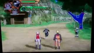 getlinkyoutube.com-Detonado Naruto Shippuden ultimate ninja 5 como desbloquear sasuke e o 4° hokage parte 1 (começo)