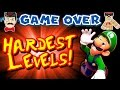 Nintendo HARDEST LEVELS! Can You Complete Them?!