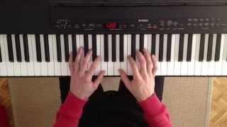 getlinkyoutube.com-Curso de acordes para piano. Clase 1. Cómo tocar acordes mayores y menores en el piano