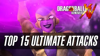 getlinkyoutube.com-DragonBall Xenoverse - Top 15 Ultimate Attacks!!! (Specials/Ougis)