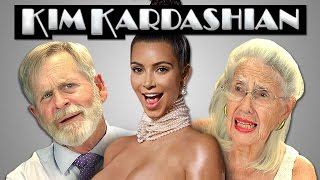 getlinkyoutube.com-Elders React to Kim Kardashian