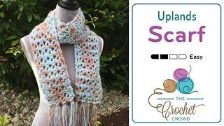 getlinkyoutube.com-How to Crochet A Scarf: Uplands Scarf