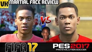 getlinkyoutube.com-ANTHONY MARTIAL IN FIFA 17 AND PES 2017! (Face Review) #5
