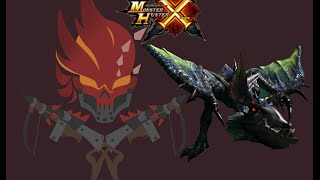 getlinkyoutube.com-MHX - One Eyed Garuga Hunt - Bushido Charge Blade