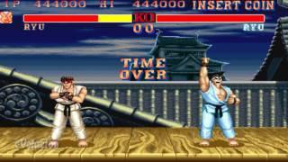 Street Fighter II Turbo (Arcade) Ryu run-through (60FPS)