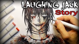 getlinkyoutube.com-Laughing Jack: STORY - Creepypasta + Drawing