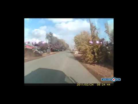 ДТП в Оренбурге: Honda влетела в ВАЗ