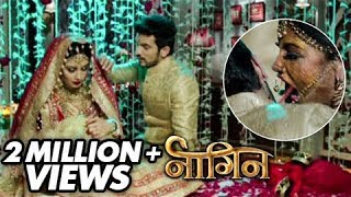 getlinkyoutube.com-(Video) Shivanya Attacks Ritik On Their Suhaagraat | Naagin | Colors