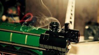 getlinkyoutube.com-Most complete LEGO steam locomotive in the world (10194 Emerald Night)