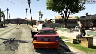 getlinkyoutube.com-Grand Theft Auto V (GTA 5) Gameplay Walkthrough Part 29 Hood Safari ( GROVE STREET!!! ) [ Full HD ]