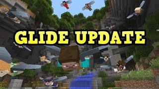 Minecraft TU51 w/ 16 Player GLIDE Minigame Releasing TOMORROW!!