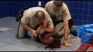 getlinkyoutube.com-Las Vegas Police (and Security/BLM) Brutality Compilation 2