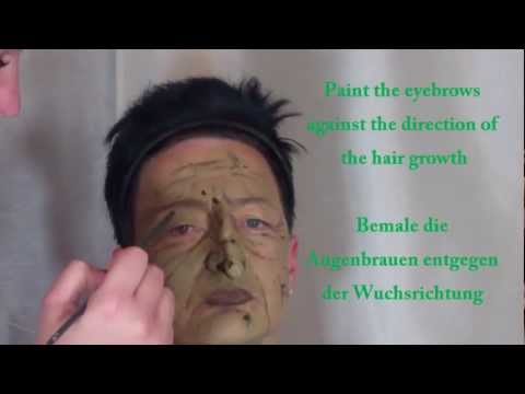 The witch make-up Tutorial / Die Hexe Make-up Tutorial