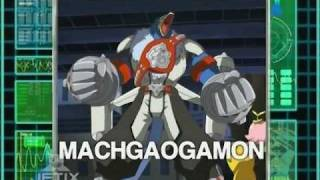 getlinkyoutube.com-Digimon: Data Squad - Gaomon warp digivolve to MachGaogamon